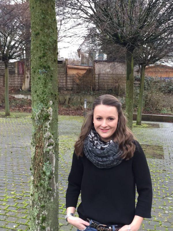 Stella (Q2) schlüpfte für zwei Tage in die Rolle eines Europapolitikers schlüpfen