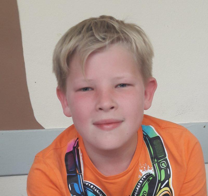 Rafael, Klasse 5, gewinnt zum wiederholten Mal einen Hauptpreis beim Känguru-Wettbewerb